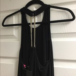 Rachel Zoe Dresses - NWT Rachel Zoe gold chain halter dress sizeS $365